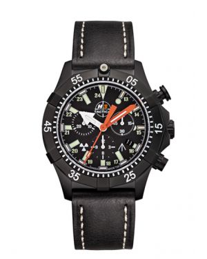 COMMANDER DIVER - 20 atm - chronograph - leather bracelet