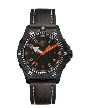 COMMANDER SPORT - 20 atm - leather bracelet