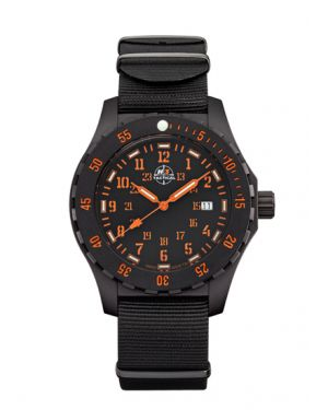 TROOPER CARBON - 10 atm - nylon bracelet