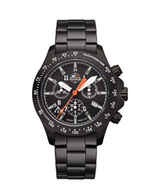 TROOPER - 10 atm - chronograph - steel bracelet