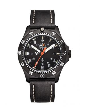 COMMANDER - 20 atm - leather bracelet