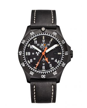 COMMANDER - 20 atm - zulu - leather bracelet